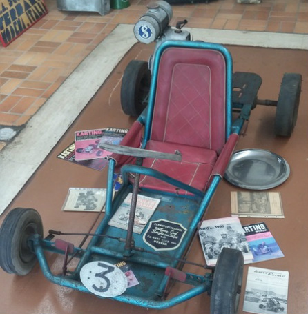 The 1. go-kart from 1956